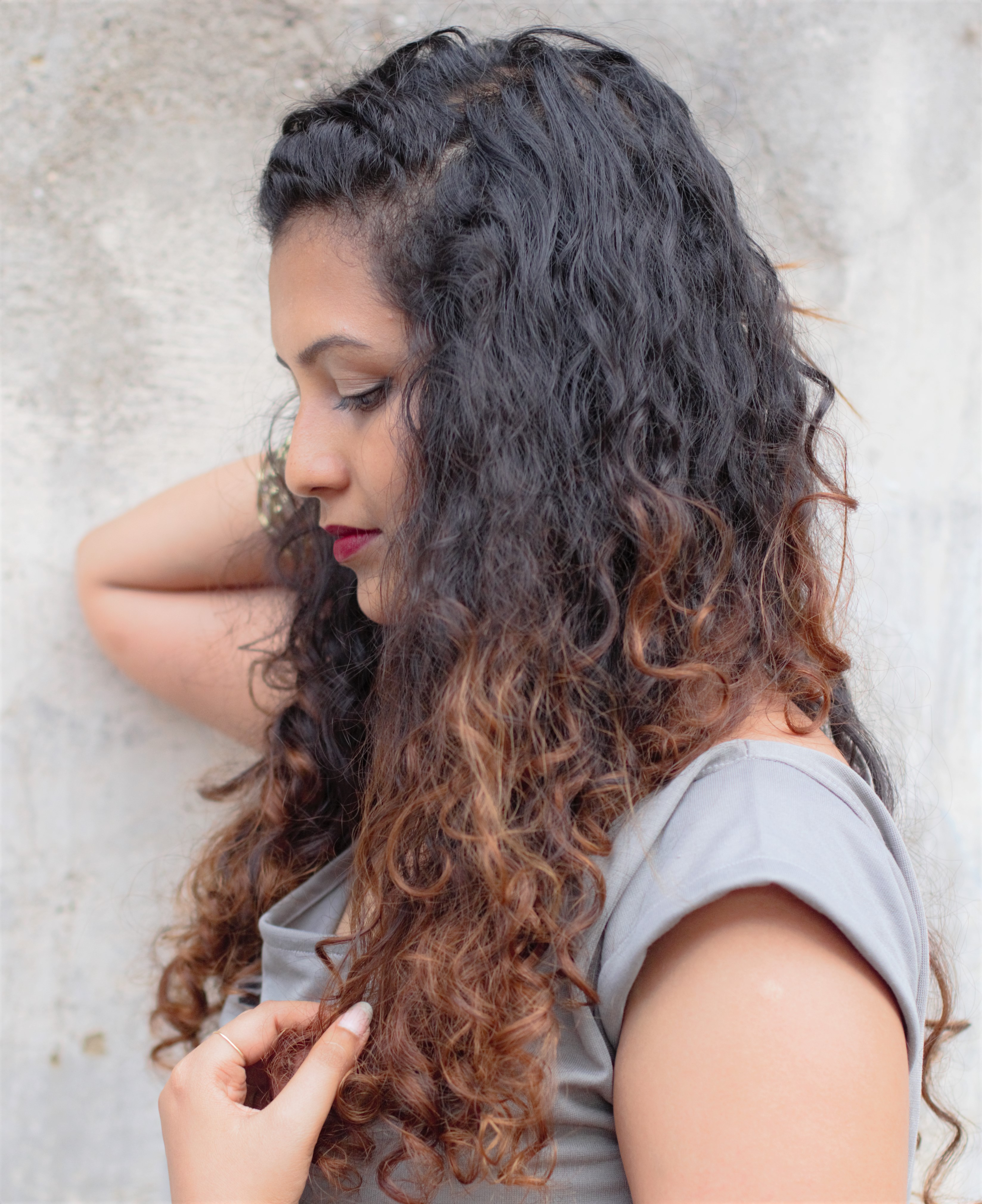 Curly & Straight- Hair Care Routine !